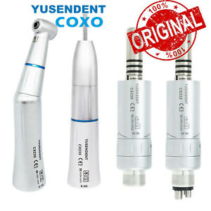 Coxo Dental E type Inner Water Kits Contra Angle Air Motor Low Speed Handpiece