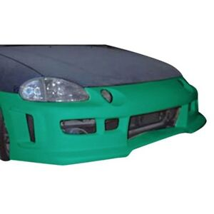 For Honda Civic Del Sol 93 97 Front Bumper Cover Revolution Style Fiberglass