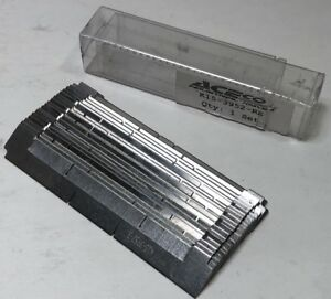 New Aceco Industrial Knives K15 3952 re Set Of Blades Potato Fry Cutter Fries