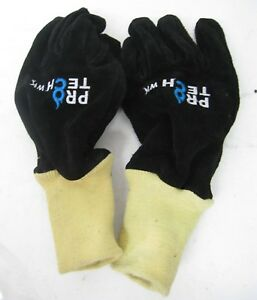 Pro tech Pt 8 Wk Firefighting Protective Gloves Medium New Knit Wristlet