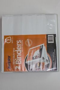 Avery Heavy Duty View Binder With One Touch Ezd Rings 3 Capacity White 2 Ct