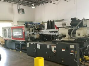 2003 Milacron Mm450 85 h50a0100024 Used Plastic Injection Molding Machine