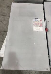 Eaton Safety Switch Dh365frk 400 Amp 600 Volt Fusible 3r