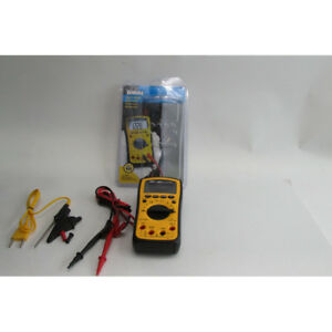 Ideal Industries 61 342 Test pro Digital Multimeter With Trms