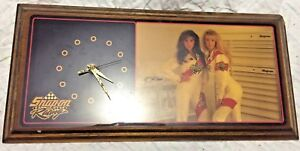 Rare Vintage Deluxe Snap On Wall Clock