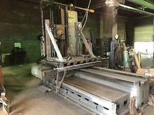 Lucas 42b 84 Horizontal Boring Mill With New Dro
