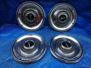 1968 68 Buick Special Skylark 14 Hubcaps Wheel Covers Hub Caps Set Of 4