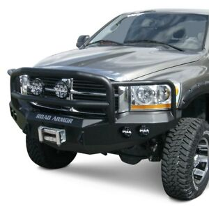 For Dodge Ram 2500 06 09 Bumper Stealth Series Full Width Black Front Winch Hd