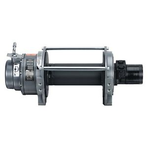 Warn 18 000 Lbs Series 18 Hydraulic Industrial Winch W o Rope 7 3 Cu In Motor