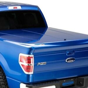 For Ford F 150 2013 2014 Undercover Uc2146l j1 Lux Hinged Tonneau Cover