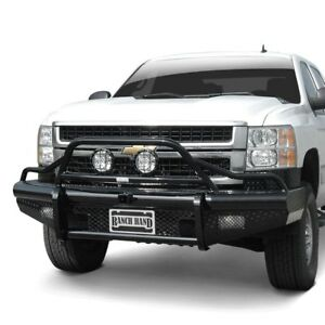 For Chevy Silverado 2500 Hd 07 10 Bumper Legend Bullnose Series Full Width Black
