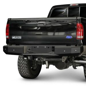 For Dodge Ram 2500 2006 2009 Ici Rbm07dgn Magnum Full Width Black Rear Hd Bumper