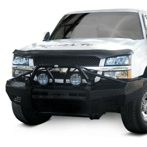 For Chevy Silverado 2500 Hd 03 06 Bumper Xtreme Series Full Width Black Front Hd