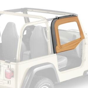 For Jeep Wrangler 1997 2006 Bestop 51790 37 Spice Fabric Upper Half door Set