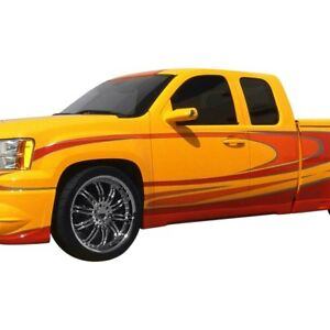For Gmc Sierra 2500 Hd 2007 2013 Street Scene 950 70195 Side Skirt Kit Unpainted