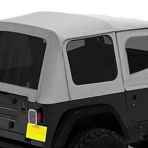 For Jeep Wrangler 1988 1995 Bestop 51123 09 Replace A Top Charcoal Gray Soft Top