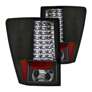 For Jeep Grand Cherokee 2007 2010 Ipcw Ledt 5006b2 Bermuda Black Led Tail Lights