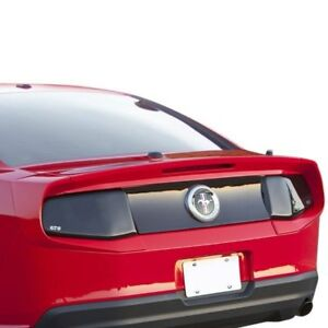 For Ford Mustang 2010 2013 Xenon Custom Style Flush Mount Rear Spoiler Unpainted