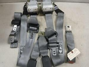 2003 2004 Ford F350 F250 Extended Cab Rear Seat Belts Oem Grey