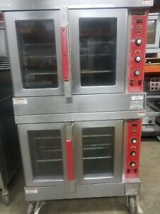 Vulcan Model Sg6d Natural Gas Double Stack Convection Ovens