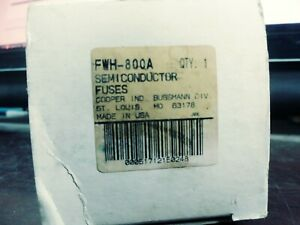 Bussman Fwh 800a Fuse 800 Amp 500 Volt Ac dc New Shelf Wear