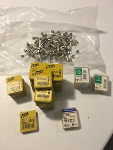 Bussman Ferraz Shawmut Littelfuse Glass Fuses Large Mixed Lot 250 Fuses