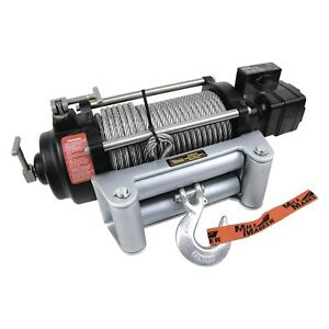 Mile Marker 75 50050c 10 500 Lbs Hydraulic Winch W Integrated Solenoid