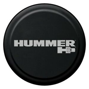 For Hummer H3 06 10 32 Rigid Series Black Spare Tire Cover Hummer H3 Logo