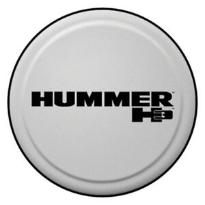 For Hummer H3 06 10 Tire Cover 32 Rigid Series Ultra Silver Metallic Spare Tire