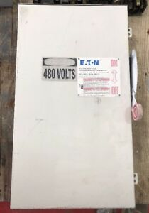 Eaton Safety Switch Dh264urk 200 Amp 600 Volt Non Fusible 3r Disconnect