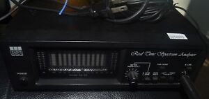 Bsr Model Sa 3x Real Time Spectrum Analyzer With Microphone Working