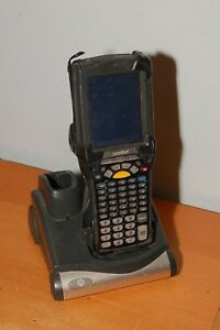 Symbol Motorola Mc9090 Wireless Barcode Scanner Windows Mobile W Dock