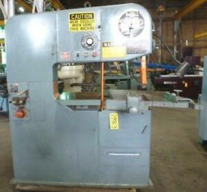 36 Doall Vertical Band Saw 3613 30 29963