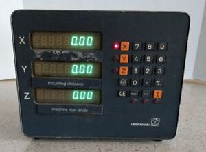 Heidenhain Vrz 750 Digital Readout 229 327 01 Program 212 994 04
