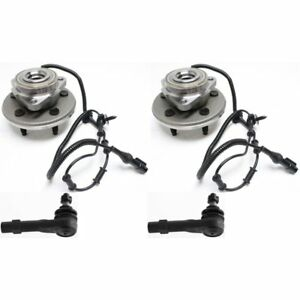 Wheel Hub Kit For 2002 2003 Ford Explorer Front 4pc