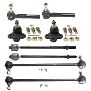 Tie Rod End Kit For 2005 2008 Chevrolet Uplander Front Left And Right 8pc