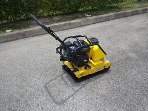Cormac Plate Compactor Model C95t 6 5hp Gasoline With Water Tank