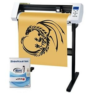 27 Vinyl Printer Cutters Cutter Sign Cutting Plotter Machine With Signmaster