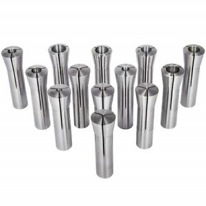 13pcs Precision R8 Collets Set 1 8 7 8 Mill Chuck Holder For Bridgeport 0006