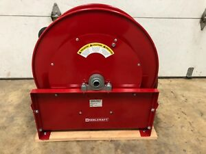 Reelcraft Heavy duty Spring Retractable Hose Reel 65 Ft X 1 I d 250 Max Psi