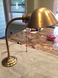 Antique Original Faries Desk Lamp