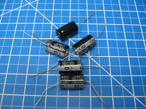 Sc Gha Series Axial Electrolytic Capacitors 160v 100uf 5 Pieces