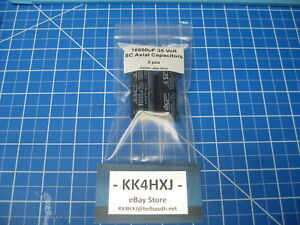 Sc Gha Series Axial Electrolytic Capacitors 35v 10000uf 2 Pieces