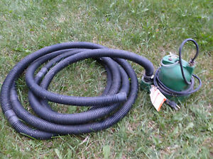 Hydromatic Submersible Pump Wa1 10 3hp With Hose