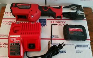 Milwaukee M18 Force Logic Cable Cutter 2672 20 needs New Blades
