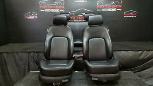 2006 Vw Beetle Front Rear Manual Seats Leather Black