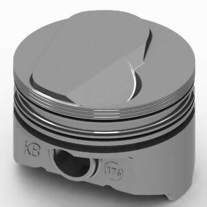 Kb Performance Pistons Keith Black Bbc Domed Piston Set 4 310 Bore 17cc