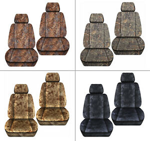 Front Car Seat Covers Camo Reeds wetland terrain Camo for Grand Cherokee 05 18