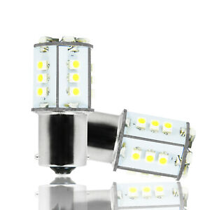 Super White 1156 106 Smd Led Bulbs For Bmw 1 3 4 Series X3 X5 Turn Signal Lights