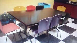 Conference Table Corporate Dining Table Erg International 42 X 72